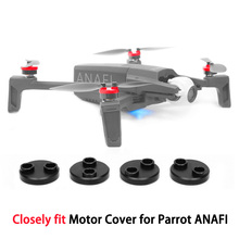 Motor Covers Dustproof Waterproof Scratchproof Aluminum Alloy Protection Cover for Parrot Anafi Drone