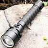 MS11 Powerful LED Flashlight 1500lm Cree LED Torch Light By 18650 Scuba Diving Flashlight Handheld Lights