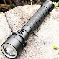 MS11 Powerful LED Flashlight 1500lm Cree LED Torch Light By 18650 Scuba Diving Flashlight Handheld Lights