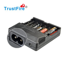 30pcs/lot TrustFire TR-012 Universal Digicharger Intelligent 6 Slot Battery Charger For 26650/18650/16340/14500/AA/AAA Batteries