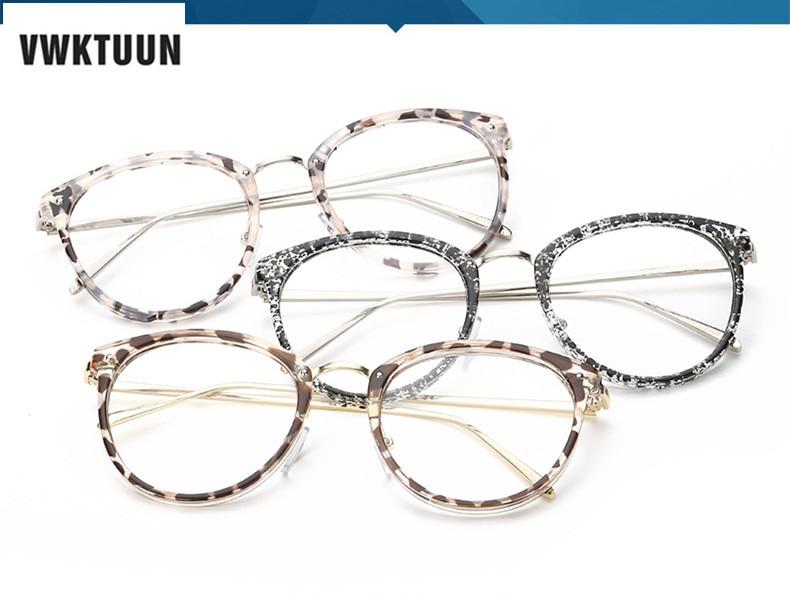 VWKTUUN Nyaste Glasögon Kattögon Glasögon Ramar Vintageglasögon - Kläder tillbehör - Foto 6