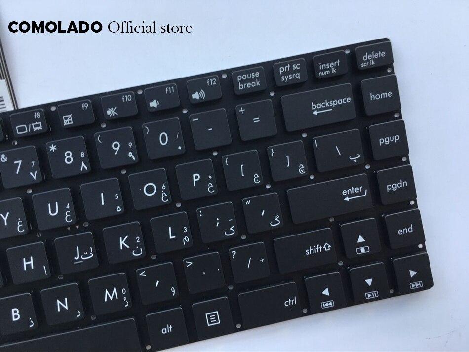 Ар Арабский Клавиатура для ноутбука Asus N46 N46VZ N46V N46VB N46VM N46JV Клавиатура ноутбука AR макет