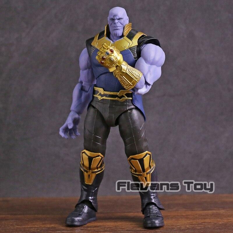 SHF S. H. Figuarts Avengers Unendlichkeit Krieg Thanos PVC Action Figure Sammeln Modell Spielzeug