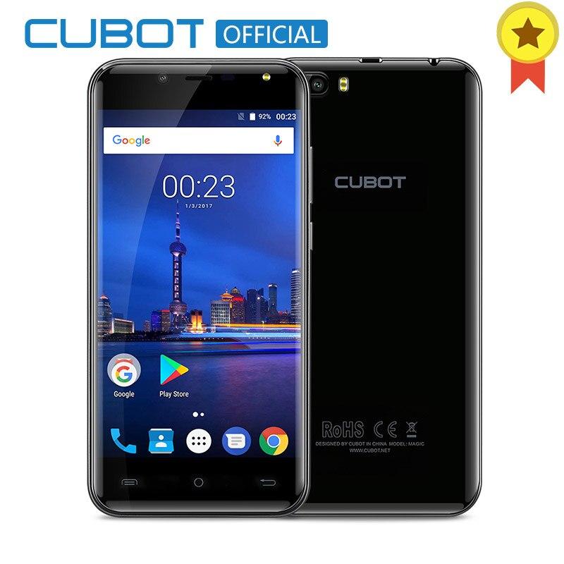 Cubot Magique 5.0 pouce HD Android 7.0 Smartphone MT6737 Quad Core 3 gb RAM 16 gb ROM 4g LTE 2600 mah Double Arrière Caméras Mobile Téléphone