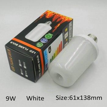 E27 E26 E14 E12 LED Flame Lamp 7W 9W AC85-265V Flickering Effect Lighting Flame Bulb For Room Decorative Atmosphere LED Light 1