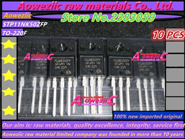 100% חדש מיובא מקורי STP11NK50ZFP P11NK50ZFP STF3NK80Z F3NK80Z TO 220F STP26NM60N P26NM60N STP140NF75 P140NF75 כדי 220