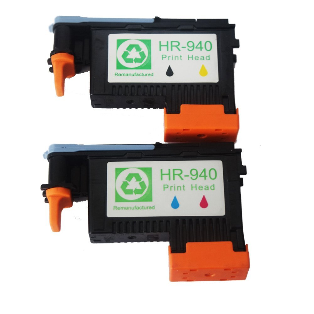 2x Compatible Hp 940 Printhead For Hp Officejet Pro 8000 Wireless 8000aio 8000w 8500 A809 A909a
