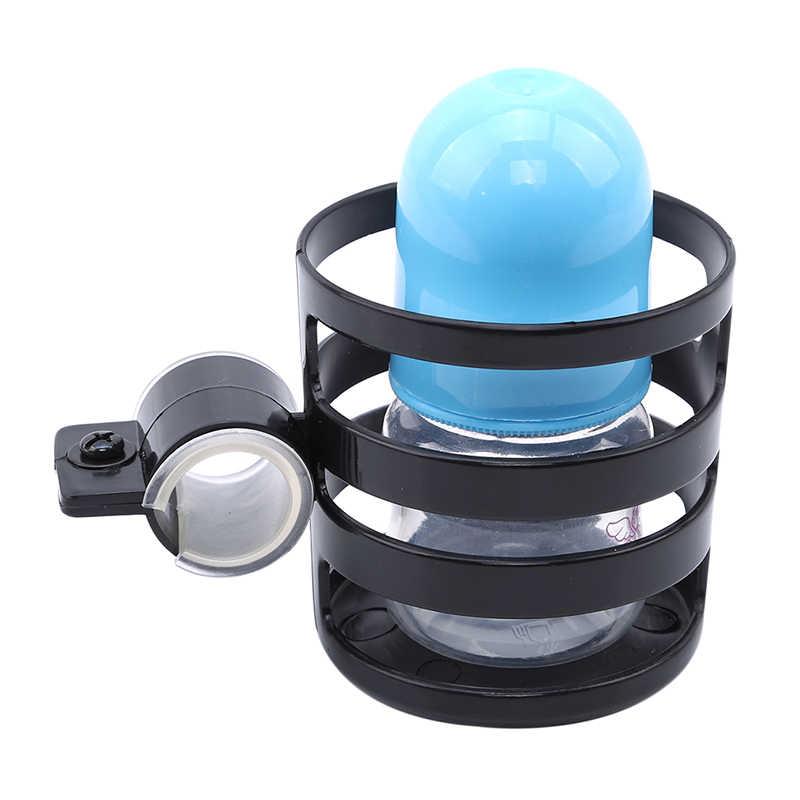 Soporte para botellas de agua de liberación rápida de plástico, accesorios para cochecito de bebé, soporte para tazas para cochecito de bebé, estante para botellas de leche, bicicleta