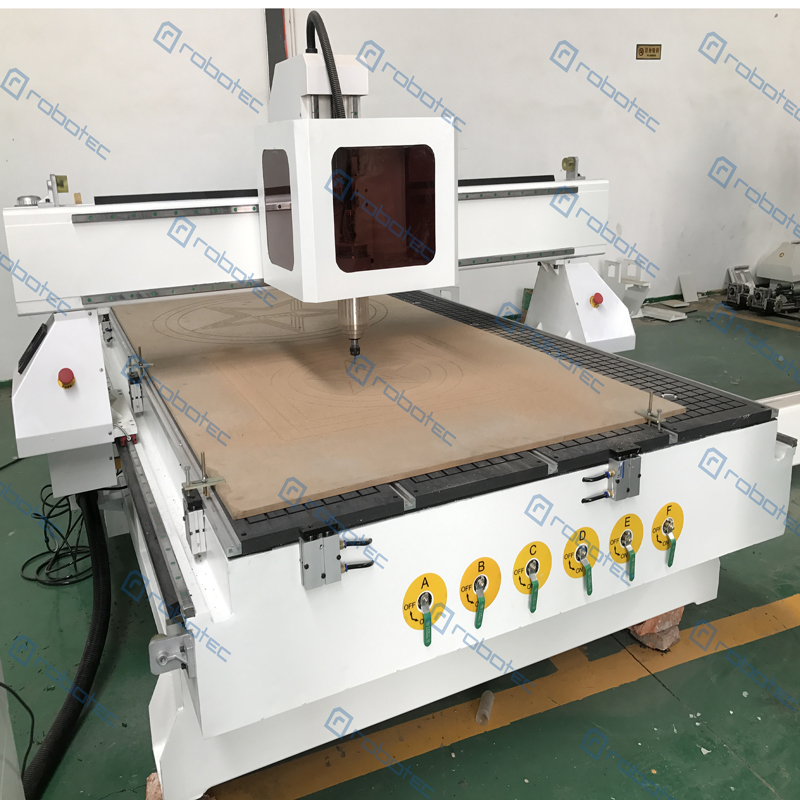 Hot Sell 5.5kw Water Cooling Spindle CNC Router Machine 1325 Wood Engraving Router Factory Direct Price