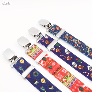 Image 5 - YBMB Christmas Gifts High Quality Fashion  2.5CM 4Clips Mens Suspenders X Shape Adjustable Durable  Elastic Belts Straps Braces