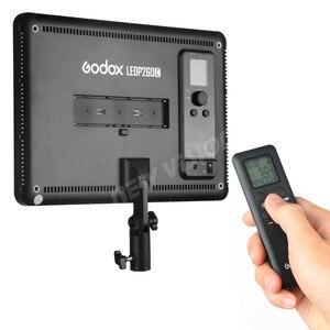 Image 5 - GODOX LEDP260C Ultra ince 30W 3300 5600k LED Video işığı Panel lambası dijital DSLR kamera stüdyo fotoğraf