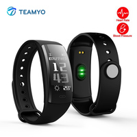 Teamyo Waterproof Smart Bracelet Watch Blood Pressure Heart Rate Monitor Smart Band GPS Tracker Fitness Bracelet