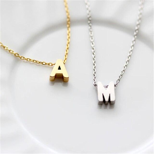 10pcslot personalized letter necklacetiny initial necklacemommy 10pcslot personalized letter necklacetiny initial necklacemommy necklacecouples necklace aloadofball Choice Image
