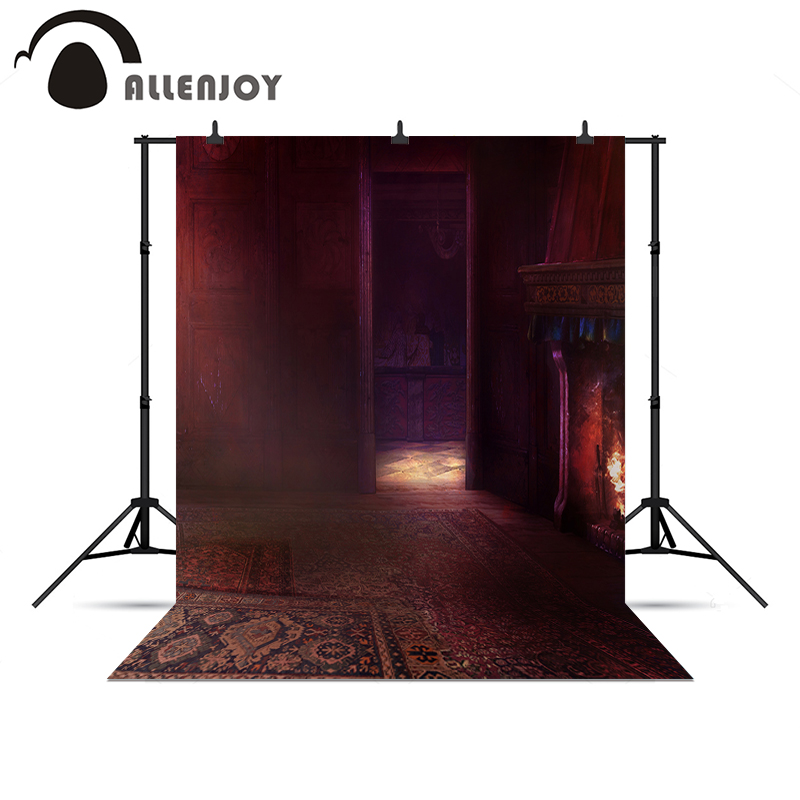 Allenjoy backgrounds for photo studio Door Fireplace Carpet Mystery noel  chrismas gifts for kids(China - Online Get Cheap Fireplace Doors -Aliexpress.com Alibaba Group