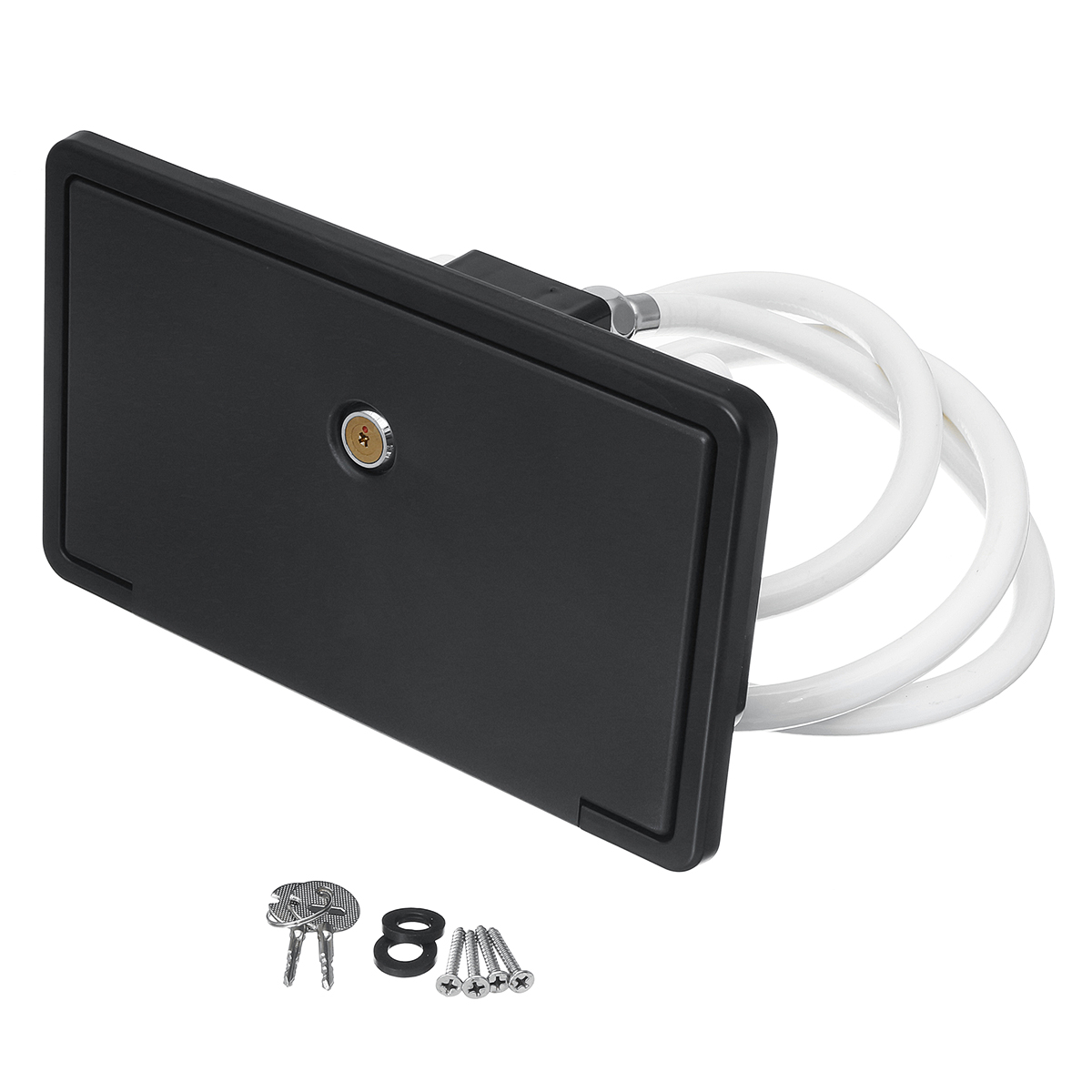 Xueqin Portable RV Exterior Shower Box Kit Shower Faucet Lock ...