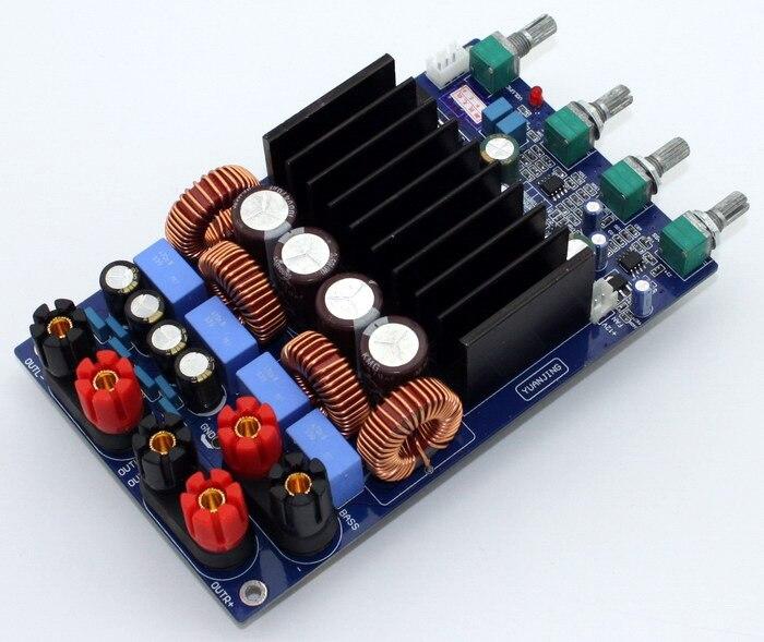 GHXAMP TAS5630 2.1 Digital Power Amplifier Board 150W*2+300W OPA1632 TL072 Class D Amplifier DC48V lusya tas5630 opa1632dr tl072 2 1 amplifier machine home aduio amplifier machine class d 300w 2 150w