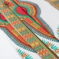 2017 Groothandel Ankara Stof Afrikaanse Echte Wax Prints Stof Ankara Java Wax Afrikaanse Print Stof 6 Yards een Stuk BRW065