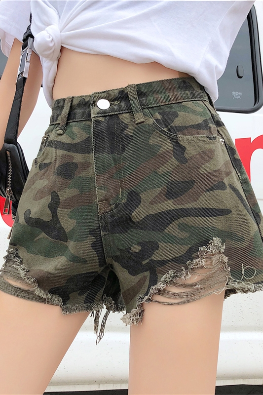 Brand Women Jogger Sweatpants Casual Boxers Trunks Women's Activewear Gay Camouflage Cool Shorts Woman Short Bottoms Fashion