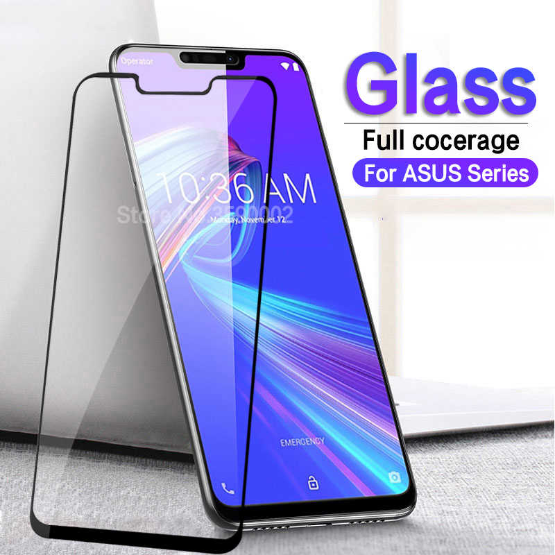 Tempered Glass for ASUS ZenFone Max Pro M2 M1 ZB631KL ZB633KL ZB602KL ZB555KL Screen Protector Zenfone 5 ZE620KL Protective Glas