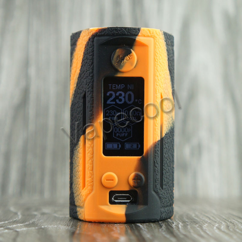 Texture Case Skin for RX GEN3 Dual and The Silicone Cover Sleeve wrap is Fit Vape WISMEC Reuleaux RX GEN3 Dual 230W Box Mod