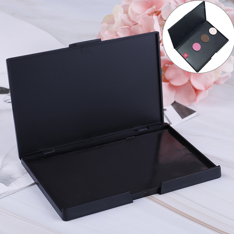 1pcs Makeup Empty Box With Magnet Empty Magnetic Eyeshadow Pigment Removable Aluminum Palette Pans Makeup