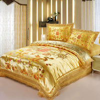 Golden Bedding Set