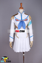 Новый УБИЙСТВО ла УБИЙСТВО равномерное косплей костюм Хэллоуин аниме dress бесплатная доставка на заказ dress + чулки
