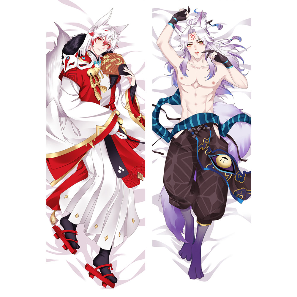 Anime Dakimakura Case Onmyoji Manga Pillow Cover Male