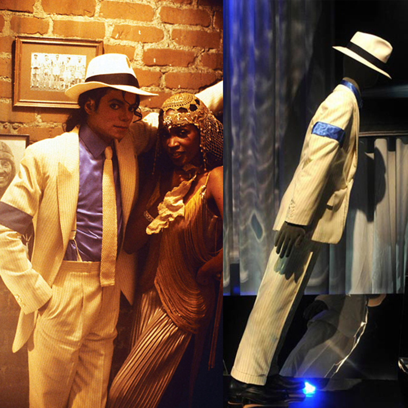 Rare MJ Michael Jackson SMOOTH CRIMINAL Easy 45 Degrees Magic Amazing  Unimaginable Leaning Shoes Boots Show Moonwalk 1990 1995 S-in Shoes from  Novelty ... 30414c9a0