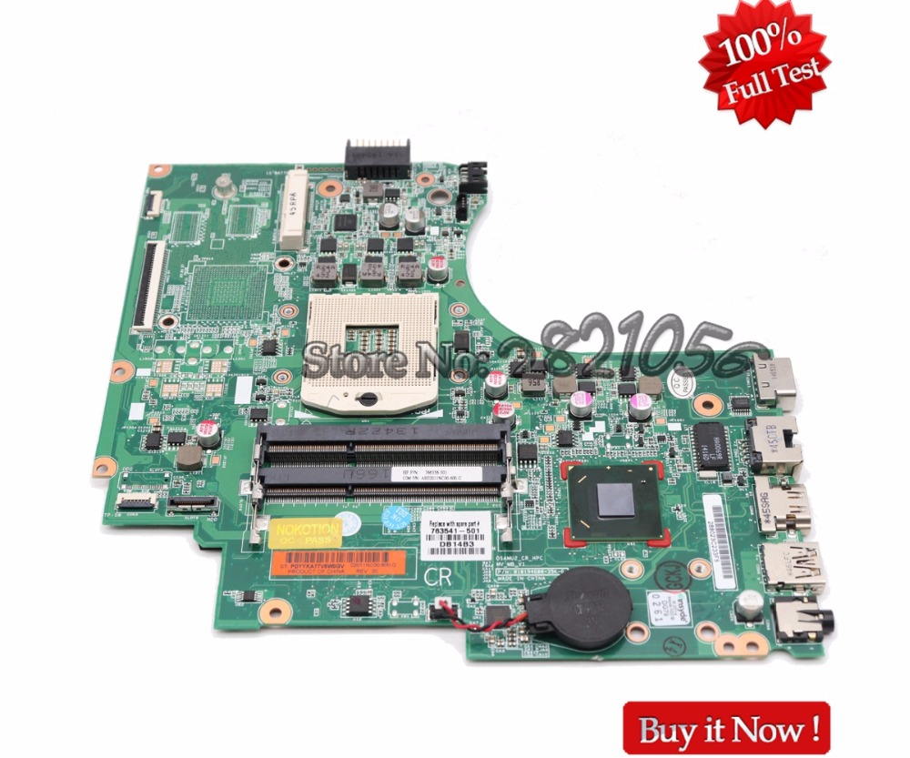 NOKOTION 747262-501 747262-001 Laptop Motherboard For HP 15-D 240 G2 246 G2 Main Board HM76 UMA DDR3 Full Tested nokotion 720565 501 720565 001 laptop motherboard for hp envy 15 15 j main board uma hm87 gma hd ddr3 w8std tested
