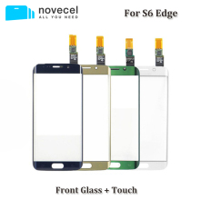 Touch Screen Digitizer For Samsung Galaxy S6 Edge G9250 G925 G925F Touch Sensor Glass Panel Replacement стоимость