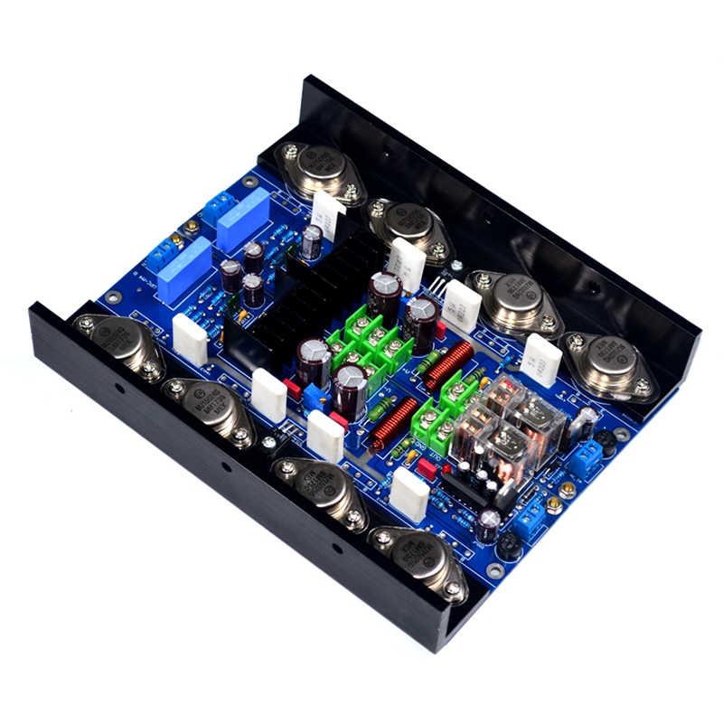 Lusya 2 шт. UPC-M4 класса A Регулируемый лихорадка класс HIFI мощность усилители домашние доска 180 Вт аудио T0206