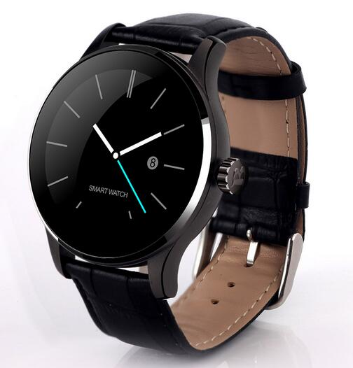 New K88H Smart Watch 1 22 Inch IPS Round Screen Support Heart Rate Monitor Bluetooth font