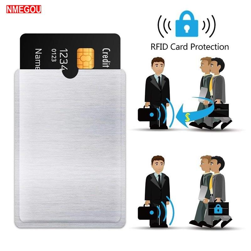 10PCS RFID Blocking Sleeves Anti Theft RFID Card Protector RFID Blocking Sleeve Identity Theft Anti-Scan Card Sleeve Protection