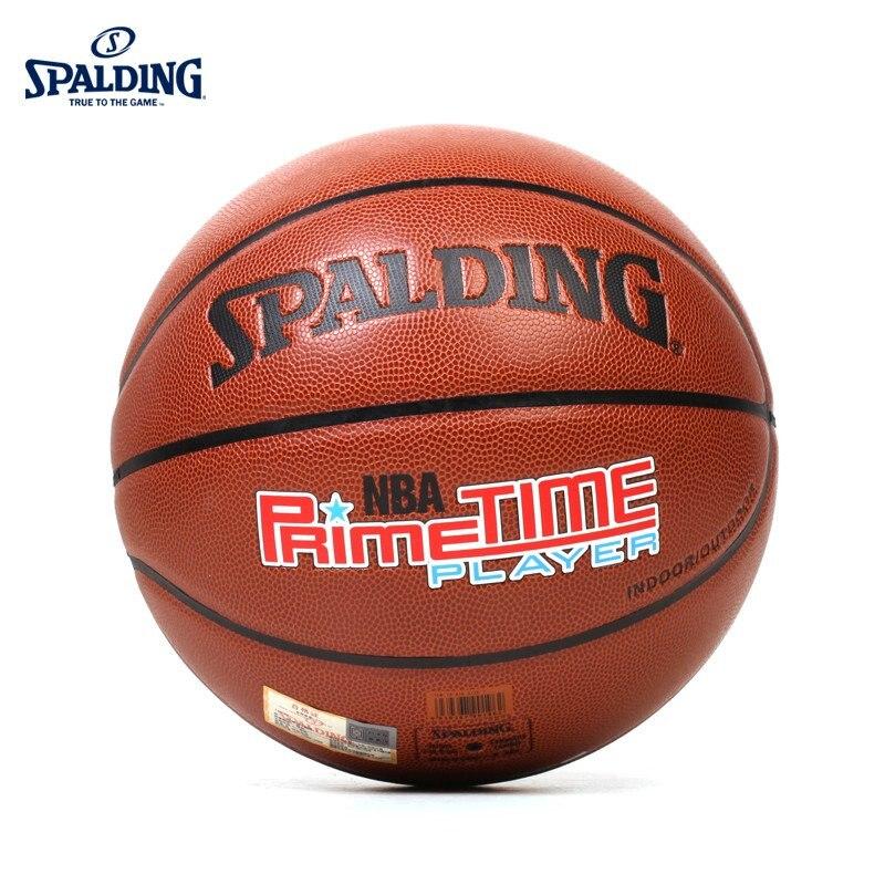 Оригинальный SPALDING NBA Street Golden Generation крытый и открытый баскетбол PU7 (мяч для стандартных мужских соревнований) 74-418