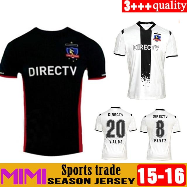 ae647eafc 2016 nino Colo Colo white soccer jersey 15 16 clue Universidad de Chile  soccer uniforms Santiago de Chile Camiseta de Colo-Colo
