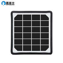 4W 6V 195*185*17mm Efficiency Monocrystalline Flexible Solar Panel Battery use Diy Kits Toys Portable Light Thin Type