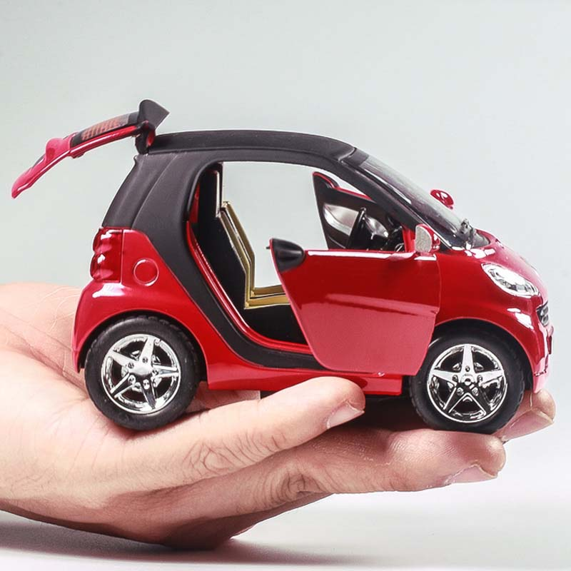 Children's Toy Car Smart Alloy Car Boy Toy Car Model Baby Inertia Back of The Car 127127 new children s toy aircraft supersize inertia simulation aircraft helicopter boy baby music toy car model