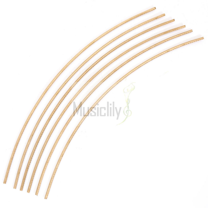 Musiclily Sintoms Premium Bronze Electric Guitar Jumbo Fret Wire 3.0mm Set New sintoms кусачки торцов ножки лада