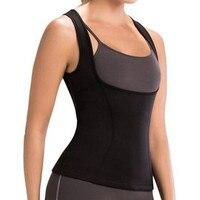 Hot Shapers Waist Trimm Slimming Shirt Hot Waist Trainer Body Shaper Plus Size Slimming Vest Neoprene