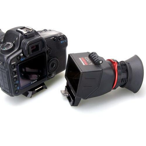 Image 3 - KAMERAR QV 1 ЖК видоискатель Vie Finder для CANON 5D Mark III II 6D 7D 60D 70D, для Nikon D800 D800E D610 D600 D7200 D90 Genunie-in Аксессуары для фотостудии from Бытовая электроника on AliExpress