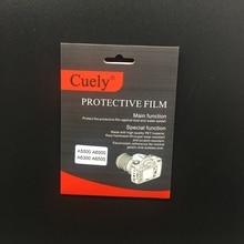 Камера из закаленного стекла Экран Защита ЖК-экрана протектор для sony A5000 A6000 A6300 A6500 беззеркальных Системы Камера