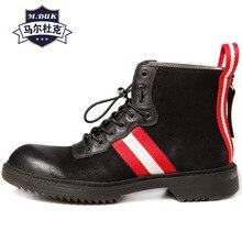 Riding boots mens all-match cowhide zipper high-top shoes desert boots men leisure autumn winter British retro chelsea boots недорго, оригинальная цена