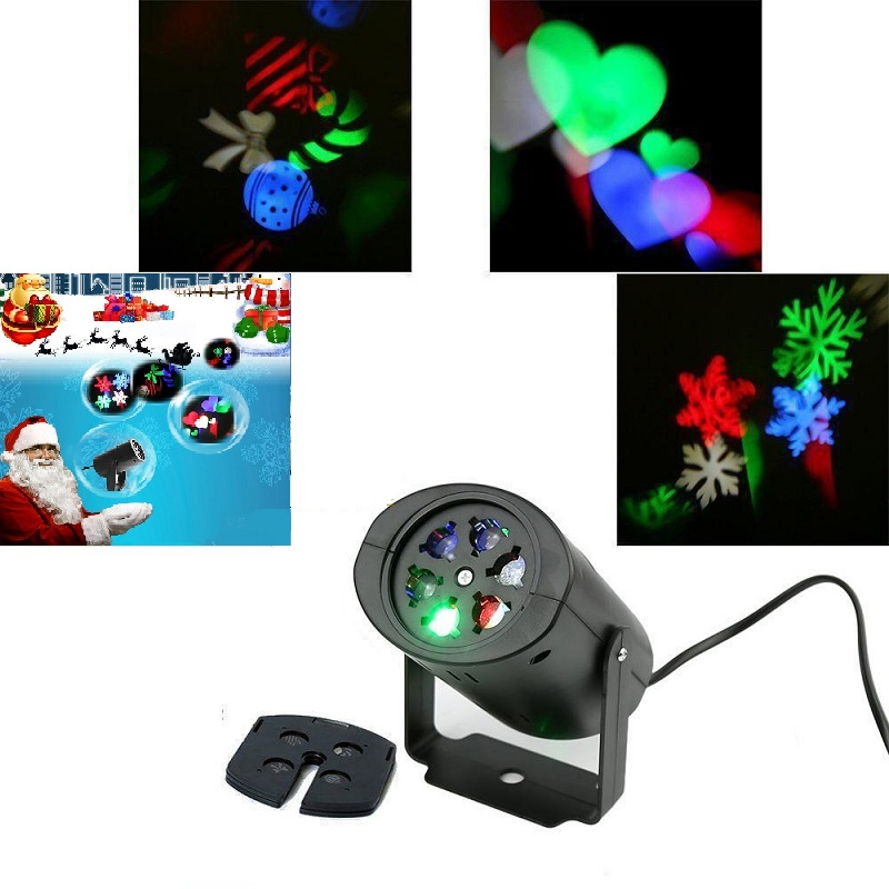 Outdoor IP65 Garden Decoration Christmas Laser Spotlight Light Star Projector Showers Static Twinkle Outdoor Landscape Lighting
