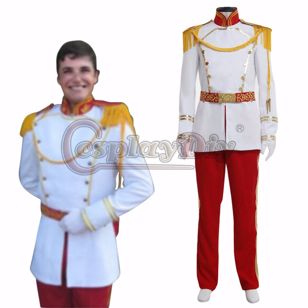 New Arrival Custom Made Prince Cosplay Costume England Prince Outfit Halloween Carnival Costume D0804
