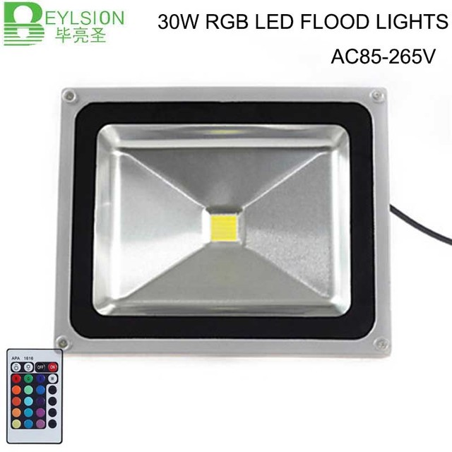 12x 30wrgb led flood light exterior spotlight ip65 led outdoor 12x 30wrgb led flood light exterior spotlight ip65 led outdoor light reflector spot floodlight remote controller aloadofball Choice Image