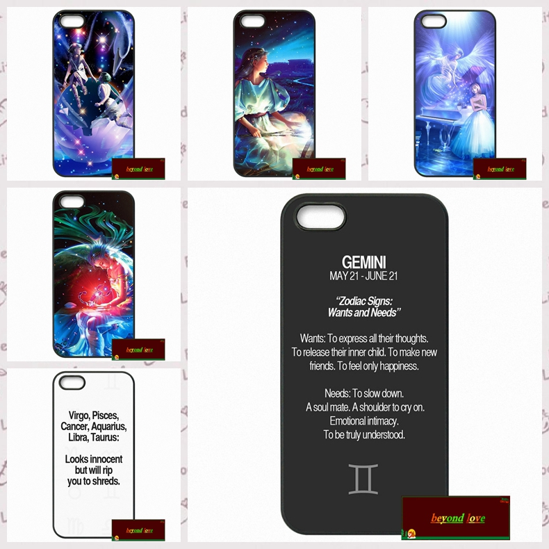 Zodiac Constellations Cover case for iphone 4 4s 5 5s 5c 6 6s plus samsung galaxy S3 S4 mini S5 S6 Note 2 3 4  DE0252