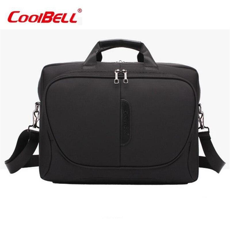 Прохладный Белл нейлон Водонепроницаемый Для мужчин Для женщин ноутбук Тетрадь сумка 15.6 дюймов Бизнес Портфели модные сумки Сумка m619