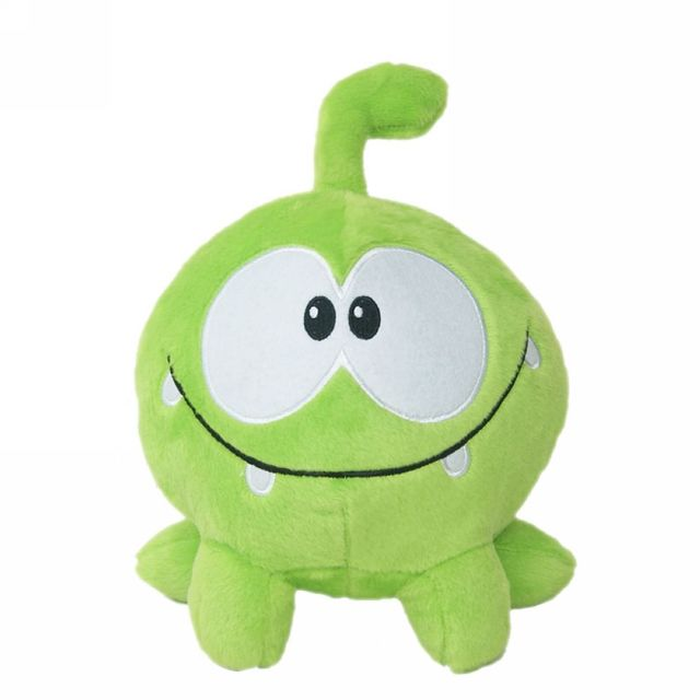 "Lovely 7""20cm om nom frog plush toys cut the rope soft stuffed cut the rope figure classic toys doll game nice gift for kids"