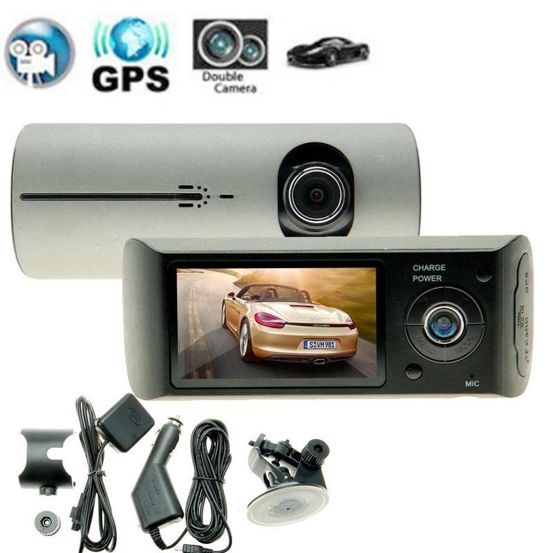 ФОТО 2.7'' 1080P Car Auto DVR Camera Video Recorder Dash Cam Dual Lens G-Sensor GPS